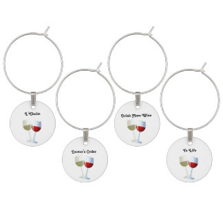 Drink More Wine Wine Charms