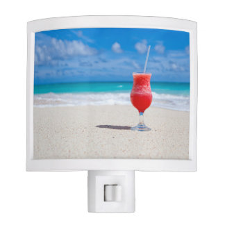 Drink on a Beach Night Lights