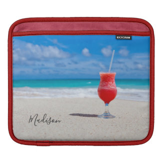 Drink On Beach custom name device sleeves
