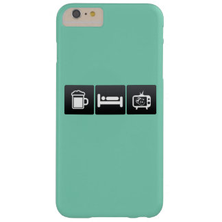 Drink, Sleep and News Channels Barely There iPhone 6 Plus Case