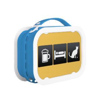 Drink, Sleep and Veterinarians Lunch Box