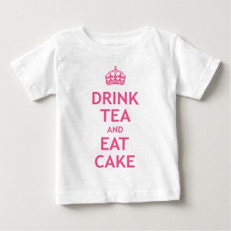 Drink Tea and Eat Cake Tee Shirts