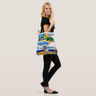 Drink Tequela Tote Bag
