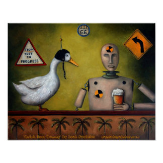 """Drink Test Dummy, """"Drink Test Dummy"""" By Leah Sa... Poster"""