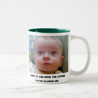 Drink The Coffee! Two-Tone Coffee Mug