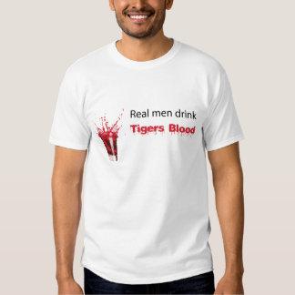 Drink Tigers Blood T Shirt