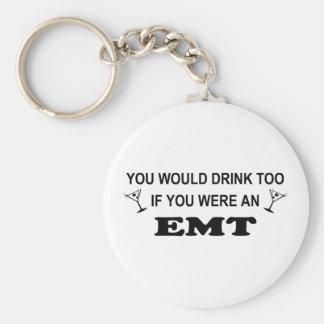 Drink Too - EMT Keychain