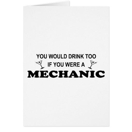 Drink Too - Mechanic Card