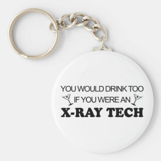 Drink Too - X-Ray Tech Keychain