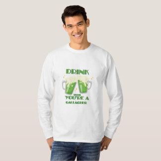 Drink Until You're A Gallagher Vintage St Patricks T-Shirt