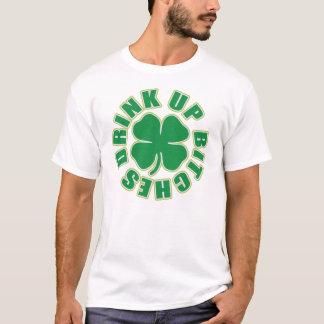 'Drink Up Bitches' Shamrock T-Shirt