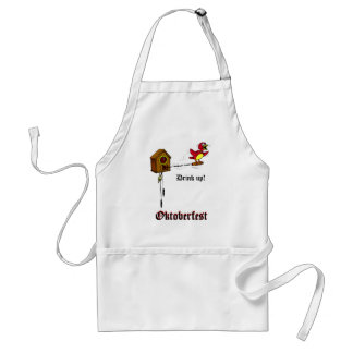 Drink up Oktoberfest Apron