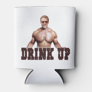 """Drink Up"" Rand Can Cooler"