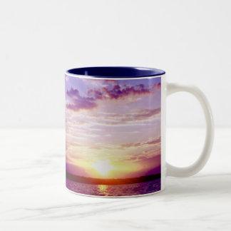 Drink up Two-Tone coffee mug