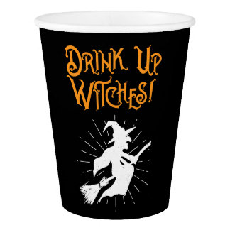 Drink Up Witches! Paper Cup