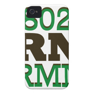 Drink Vermont Beer Local 802 iPhone 4 Case-Mate Case