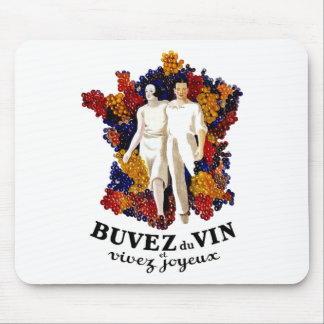 Drink Wine and Enjoy Life Mouse Pad