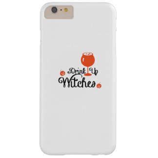 Drink Witches Wine lovers Halloween Funny Party Barely There iPhone 6 Plus Case
