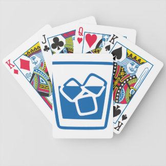 Drink with Ice Bicycle Playing Cards