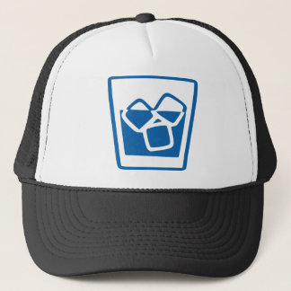 Drink with Ice Trucker Hat