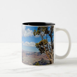 Drink with nature Two-Tone coffee mug