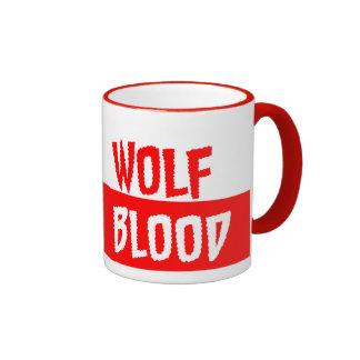 Drink Wolf BLOOD Ringer Coffee Mug