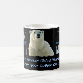 """""""DRINK YOUR COFFEE COLD!"""" Mugs"""