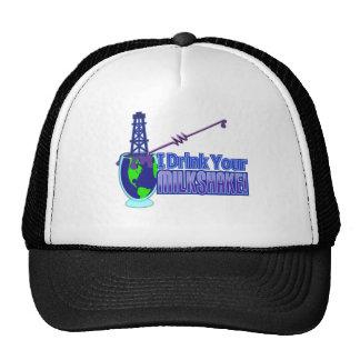 Drink Your Milkshake Design Hat