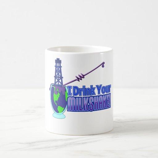 Drink Your Milkshake Design Coffee Mugs
