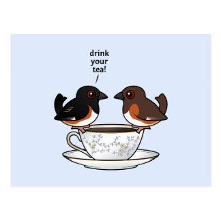 Drink Your Tea! Postcard