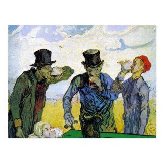 Drinkers by Vincent van Gogh Postcard