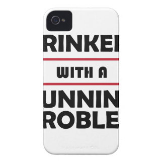 Drinkers with a Running Problem iPhone 4 Cover