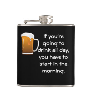 Drinking All Day -- Flask