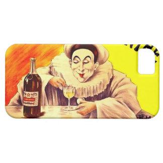 Drinking Clown Pierrot Absinthe Poster Art iPhone 5 Cases