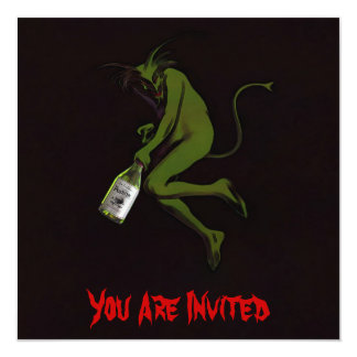 Drinking Devil ~ Invitations