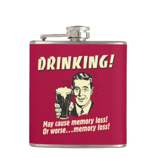Drinking: May Cause Memory Loss Worse Hip Flask