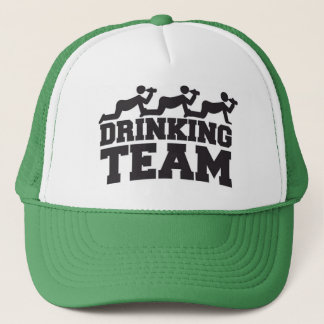 """Drinking Team"" Bachelor Party Trucker Hat"