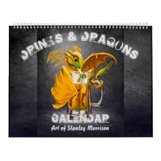 Drinks and Dragons Calendar