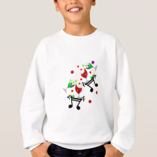 Drinks and Party Holiday. Sweatshirt
