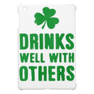 Drinks Well With Others iPad Mini Cover