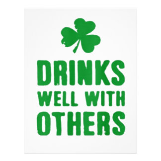 Drinks Well With Others Letterhead