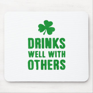 Drinks Well With Others Mouse Pad