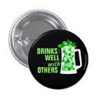 Drinks Well with Others Mugs o' Shamrocks