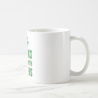 Drinks Well With Others St. Patrick's Day Tee Coffee Mug