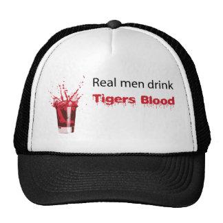 drinkTigerBlood2 Hat