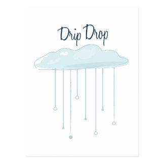 Drip Drop Postcard
