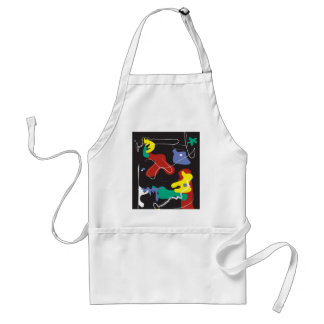 Drip Painting Standard Apron