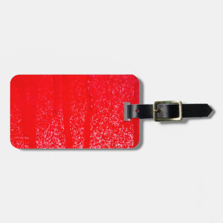 dripping blood luggage tag