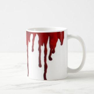 Dripping blood mug