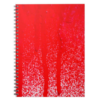 dripping blood notebooks